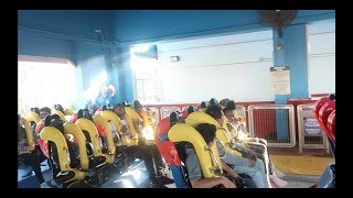 WE ALMOST FELL OFF THE RIDE AT SIX FLAGS!!! WITH JAZZ AND TAE AND ARMON AND TREY