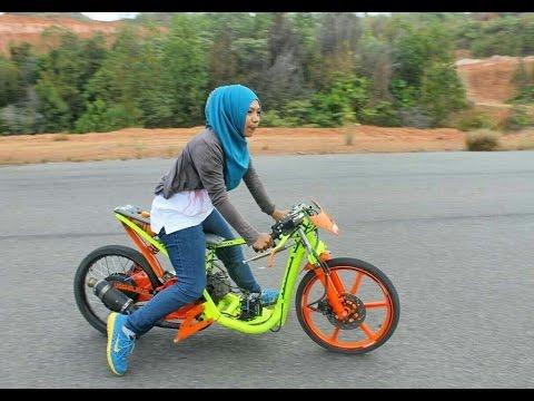 Drag Bike Raya Kitty vs indri barbie