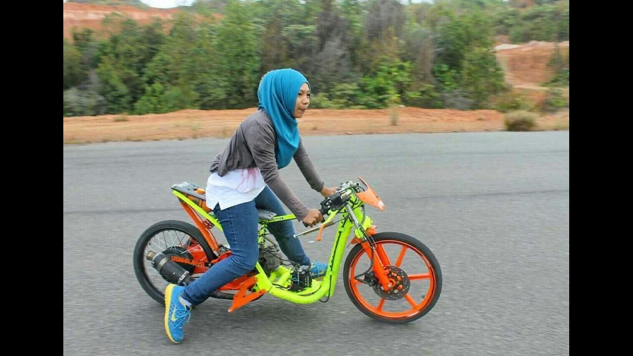 Download 91 Gambar Motor Drag Wanita Terupdate Bamboe Modif