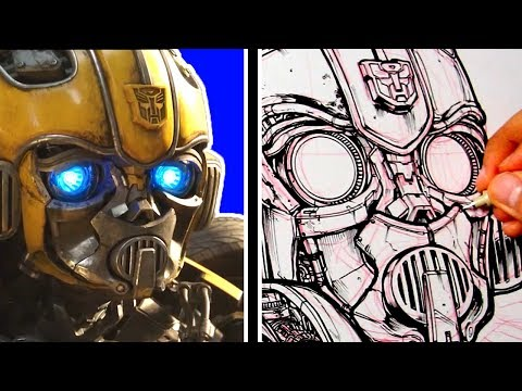 The most DETAILED DRAWING EVER (i think) of BUMBLEBEE MOVIE!