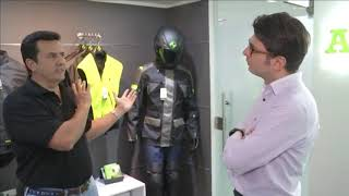 Así funciona el airbag en los chalecos para los motociclistas colombianos - Nota Canal RCN