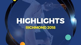 Pairs Free Skating | Highlights| Richmond 2018