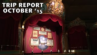 Walt Disney World Magic Kingdom Trip Report October 2015 - Country Bear Jamboree Collector Show 20