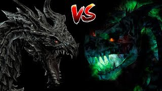 КТО СИЛЬНЕЕ #3: Алдуин VS Дракон-Нежить | Skyrim | Готика 2 | DAMIANoNE