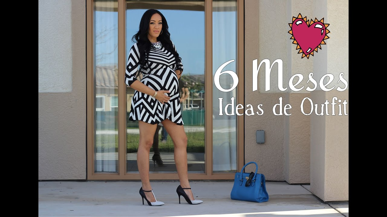 6 Meses Embarazo Ideas De Outfits 6 Meses De Embarazo Youtube