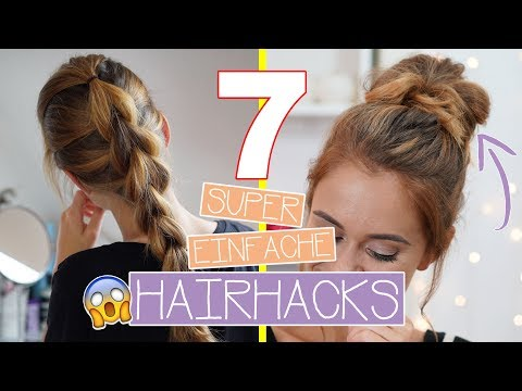 The EASIEST HAIRSTYLE HACKS for beginners - ANYONE can do them! | SNUKIEFUL