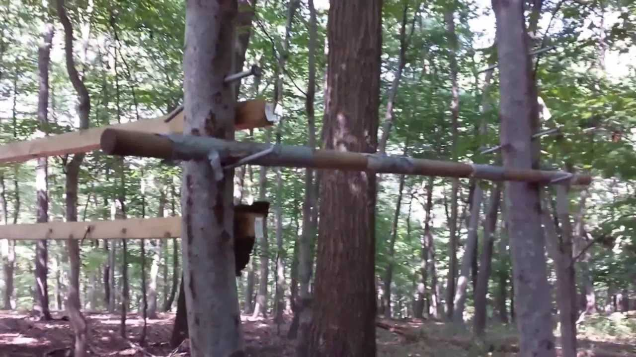 Salmon Ladder Ninja Warrior Training Obstacle