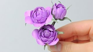 Цветы (розы) из ткани своими руками | Tavifa(Цветы из ткани (розы) вы научитесь делать своими руками посмотрев этот мастер-класс. Вы научитесь делать..., 2014-09-07T06:39:21.000Z)