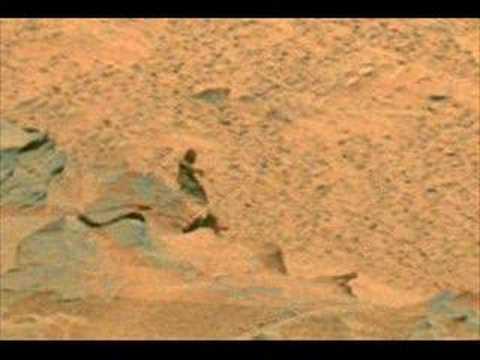 Martian Bigfoot caught by NASA Spirit Rover !!! - YouTube