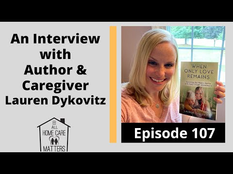 An Interview with Author and Caregiver Lauren Dykovitz