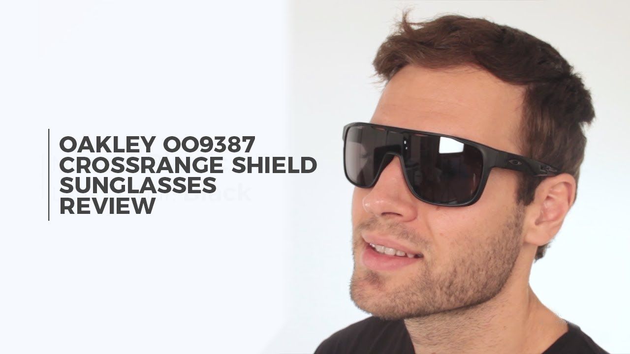5d72be6551 Oakley OO9387 CROSSRANGE SHIELD Sunglasses Review