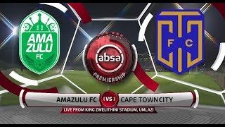 Absa Premiership 2018/19 | AmaZulu vs Cape Town City