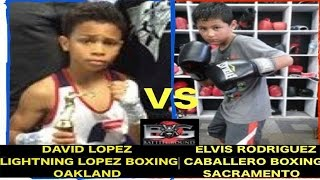 The BEST 10 Year old BOXER in the Country, DAVID LOPEZ