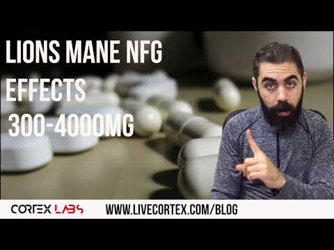Lions Mane is IMPROVING MY VERBAL RECALL (+ NGF details)