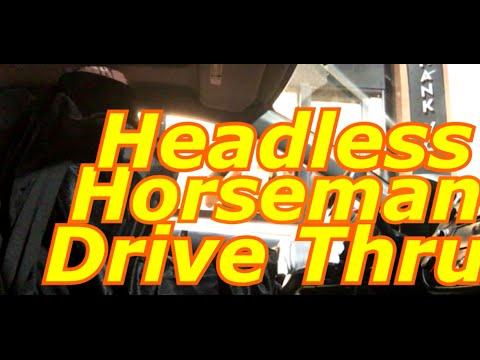 """Drive Thru Headless Horseman Prank! """"DRIVE THRU HEADLESS PRANK"""" Drive Thru Scare Prank!"""