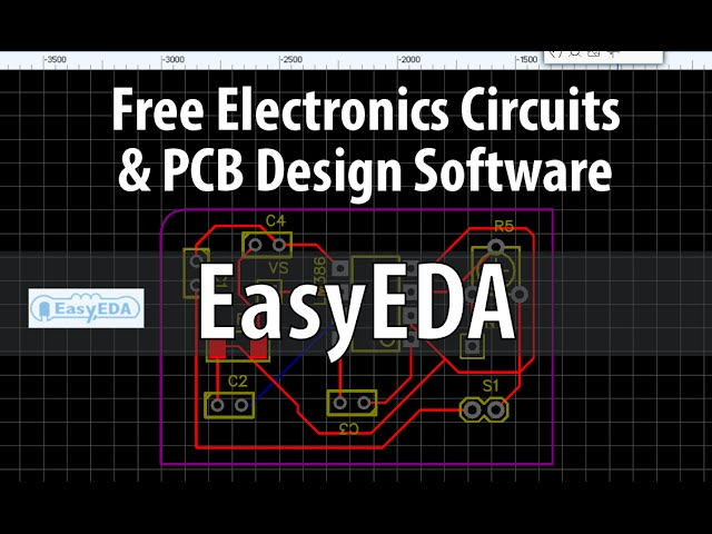 Easyeda Free Electronics Circuit Pcb Design Simulation Online Software Review Youtube