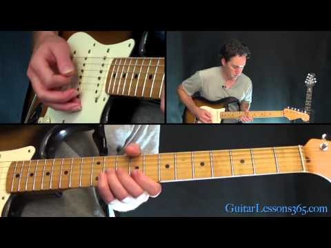 Jailhouse Rock Guitar Lesson - Elvis Presley