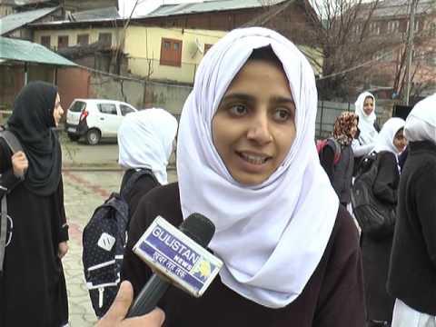 SCHOOL AND EDUCATION KASHMIR STORY GULISTAN NEWS IRFAN FAZIL 1ST MARCH 2017
