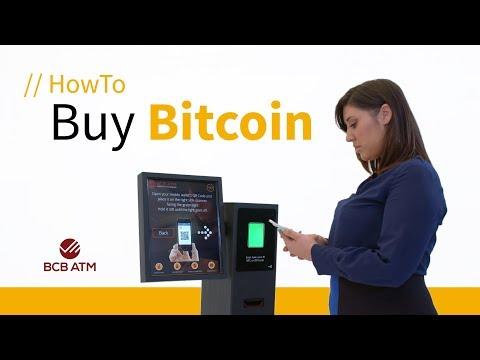 How To Buy Bitcoin Using A Bitcoin ATM - BCB ATM