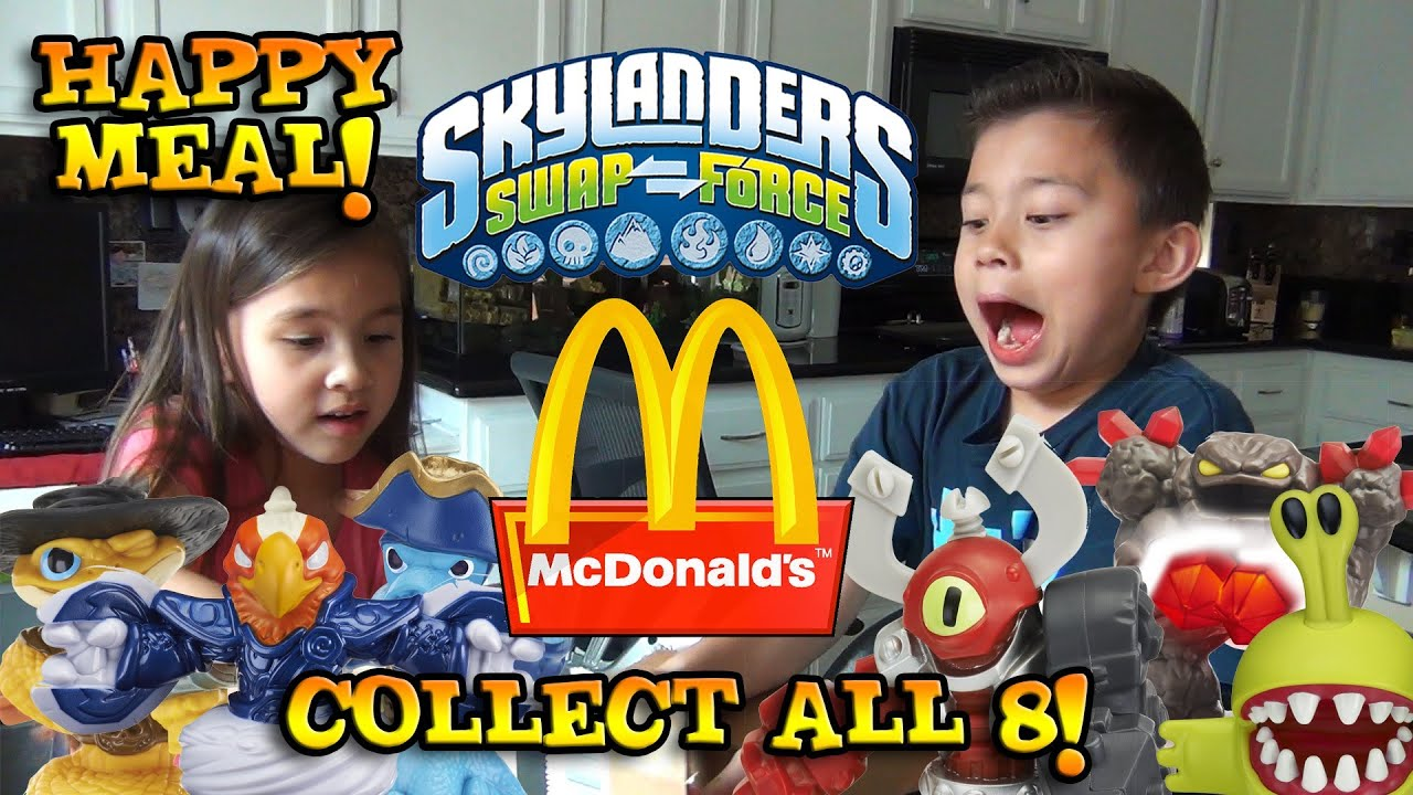 Skylanders Swap Force HAPPY MEAL TOYS from McDonald s Surprise