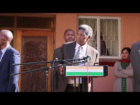 Deputy Prime Minister of Lesotho on Indian Independence Day 2017 in Lesotho