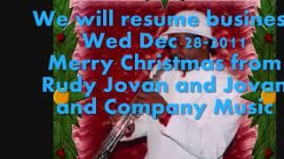 White Christmas by Rudy Jovan   Jovan & Company Music, Houston, Tx
