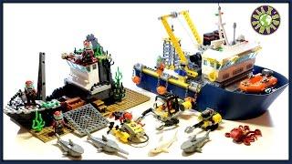 Lego Deep Sea Exploration Vessel Review | ALEXSPLANET