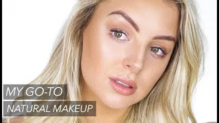 MY EVERYDAY MAKEUP ROUTINE! NATURAL & GLOWY! ft. Beauty Blender Bounce Foundation