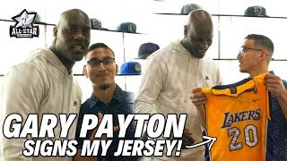 GARY PAYTON SIGNS MY JERSEY!!! | 2018 NBA ALL-STAR WEEKEND VLOG