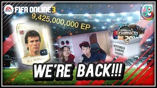 ~Back with a Bang!!~ Nov Diamond Package 2018 Opening - FIFA ONLINE 3