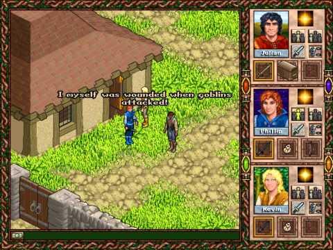 """Zagrajmy w """"Faery Tale Adventure II"""" 02: Wioska Padavis"""