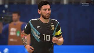 Fifa 18 World Cup gameplay - Argentina  (2/3)