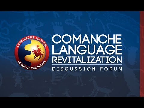 Comanche Language Revitalization Discussion Forum - Nov. 2017