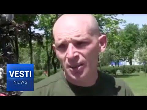 Captured Ukrainian Soldier