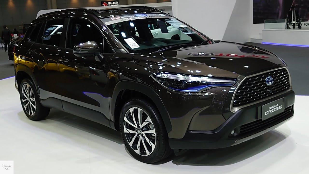 Desain Exterior Toyota Corolla Cross