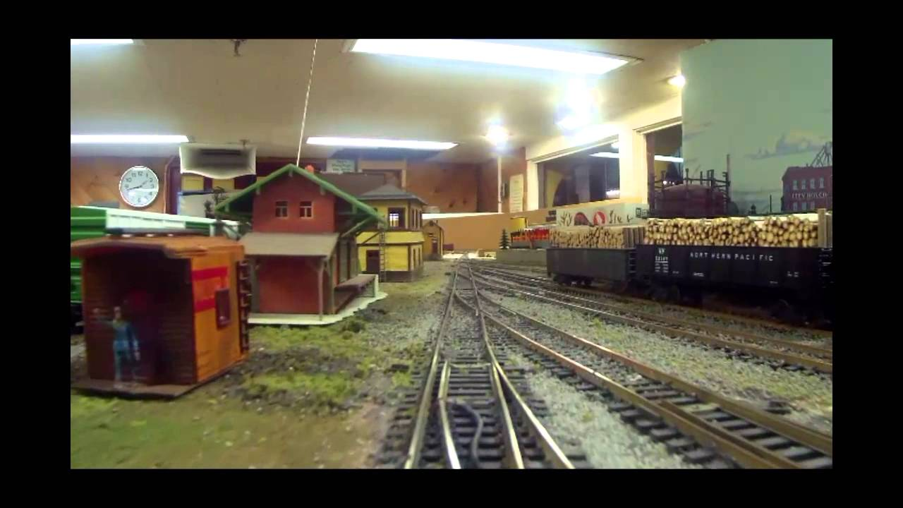 Cab Duluth Mn >> The Lake Superior Railroad Museum HO Model Railroad: Scenes & Cab View. - YouTube