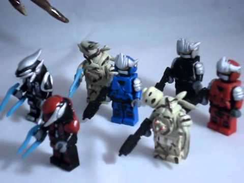 Custom lego halo hayabusa minifigures infected human - Lego spartan halo ...