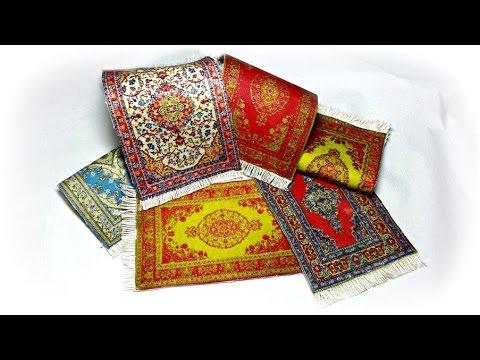 Diy como hacer alfombras para el belen y casa de mu ecas - Alfombras para casas ...