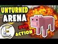 Pigs Can Win | Unturned Vanilla Arena - PVP Action! (Funny Moments)