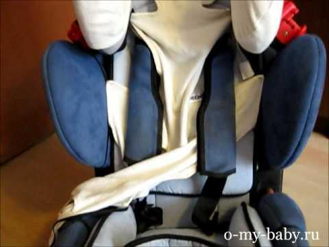 Видео-отзыв об автокресле Recaro Young Sport от Ольги Ивановой