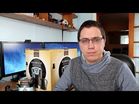 Unboxing: Keurig 2.0 K550 Brewing System