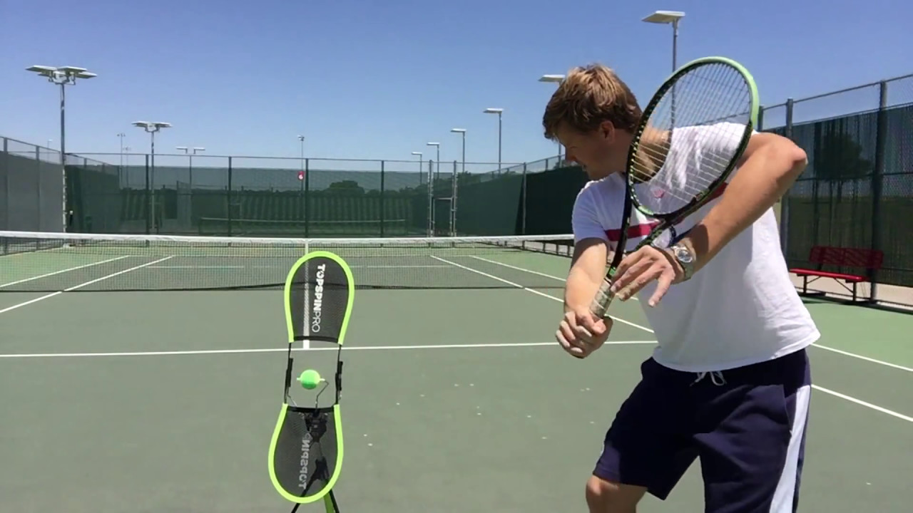 great tool for learning tennis top spin