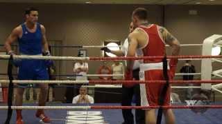 Simon Kean ( victoire ) vs Ryan Rozicki  Elites 2015