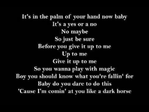 Lyrics Dark Horse
