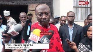 """Lipumba nae afunguka wanaohama """"ikitokea Dr Magufuli avutiwe na Sera za CUF?, tuna mvuto"""""""