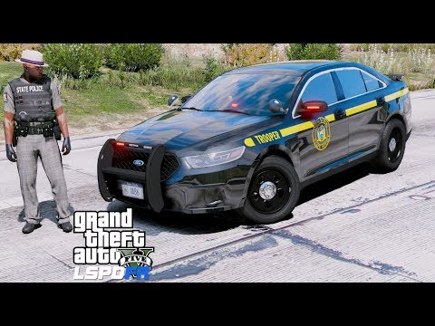 GTA 5 LSPDFR Police Mod #607 New York State Police - State Trooper Live Stream With New Uniforms