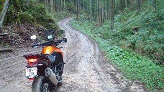 Offroad in Frankreich mit der KTM 1190 Adventure T 2014