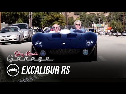 Leno gets to know the one-off Excalibur RS