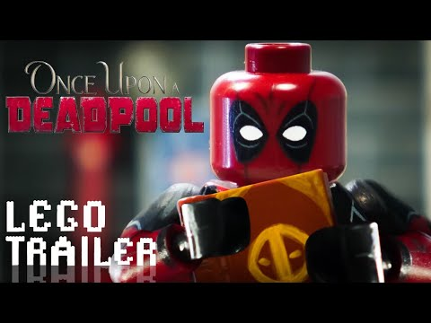 Once Upon A Deadpool Trailer in LEGO thumbnail