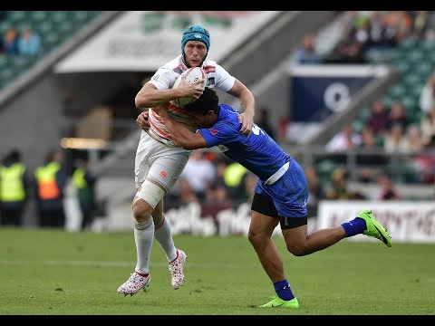 England and New Zealand unbeaten at London Sevens - Day One Highlights from YouTube · Duration:  7 minutes 52 seconds